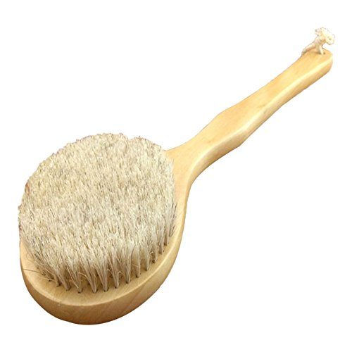 ACE Natural Bristle Handle Scrubber