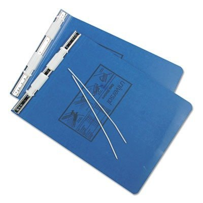 Universal Office Products Pressboard Hanging Data Binder, 9-1/2 x 11, Unburst Sheets, Blue 15432 by Universal Office Products