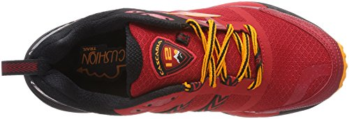 Black Red Running Orange Trail 12 Uomo 1d663 Cascadia Scarpe Multicolore Brooks da H8wzX8q