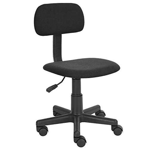 HOMY CASA Homycasa Yanyan Mesh Mid-back Executive Adjustable Computer Task Desk Office Chairs (Black) by HOMY CASA