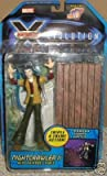 Marve X-men: Evolution Nightcrawler Ii with Catapult Table Triple X-treme Action by X Men