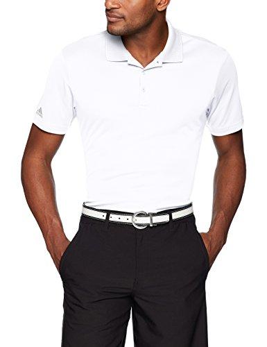 adidas Golf Performance Polo, White, Large