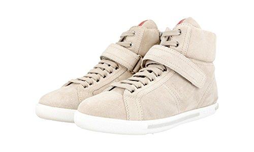 cuero de Prada Zapatillas zapatillas de mujer 3T5783 deporte para qwIxpR4