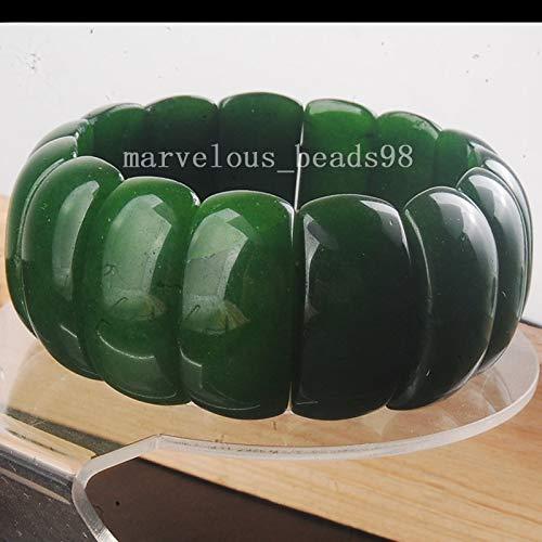 Fashion Jewelry | Green Aventurine Beads Stretch Bracelet 13x26mm