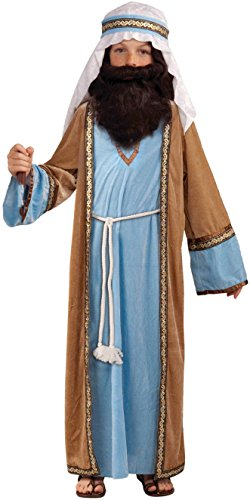 Play Nativity Costume Joseph (Forum Novelties Biblical Times Deluxe Joseph Costume, Child)