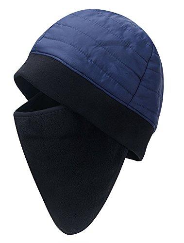 Ciclismo Aire A Prueba Deporte oscuro Polar de Viento máscara Beanie al Unisexo Roffatide Gorro con Azul Esquí Invierno Forro Libre g8nRazOq