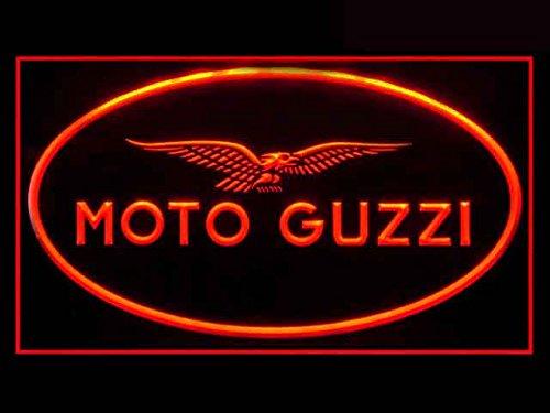Moto Guzzi Motorcycle Repair Led Light Sign