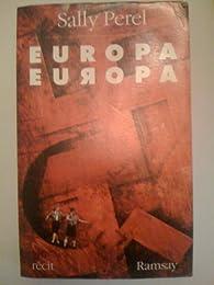 Europa, Europa par Sally Perel