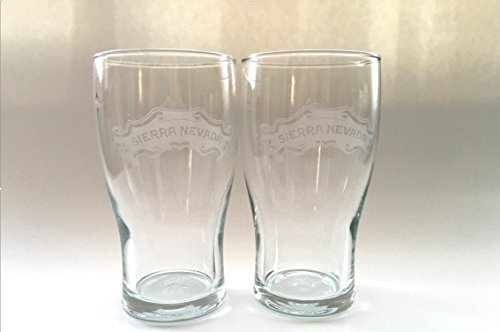 Set of 2 - Sierra Nevada IPA Glasses-Pint Glasses