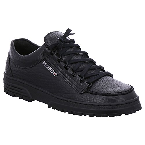 Mephisto Mens Cruiser Leather Shoes Black
