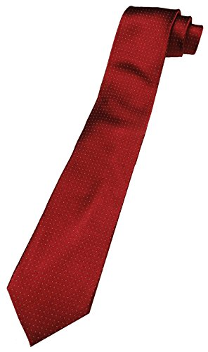 - Tommy Hilfiger Neck Tie Red & Silver Christmas