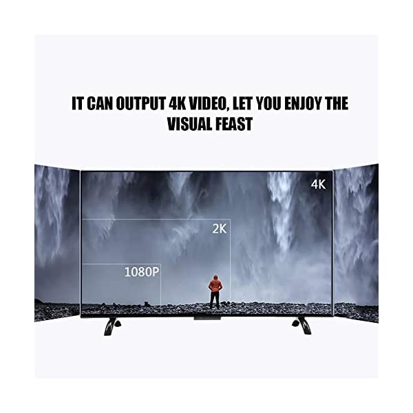 Hakeeta Curved 55-Inch UHD 4K Ultra HD Television Curved Screen Smart TV, Supports USB HDMI RF Antenna.(Network Version)(US) 2