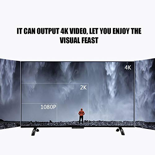 Smart TV, 32inch Freeview HD 4K TV Intelligent Support VGA, Earphone, USB, AV, HDMI, RF with Wall Mountable 3000R Curvature TV, 1920x1200(US)