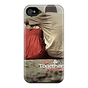 High-end Case Cover Protector For Iphone 4/4s(you And Me) by Maris's Diaryby Maris's Diary