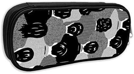 Trapez-Kosmetik-Make-up-Hüllen Butterfly Blue Cosmetic Bags Multifunktions-Clutch-Tasche