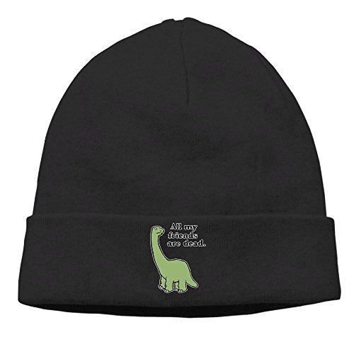 All That Jazz Velvet Hat (Latest2018 Fashion Warm Hats For Men & Women All My Friends Are Dead Dinosaur Unisex Winter Knitting Hat Cool Beanie Cap)