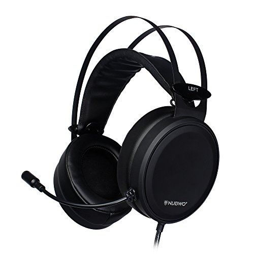 Gaming Headset, 3.5mm Jack Stereo Surround Sound, with Microphone Mute Volume Control, Wired Over Ear Headphones, for PS4, Xbox One, PC, Computer, Call Conference Center, Mac, WIndows (X505 Lite)