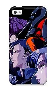FQLYyWb4481XRCOu Gunbuster Cast Wallpaper Fashion Tpu 5c Case Cover For Iphone