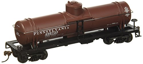 Model Power 732520 HO RTR 40' 1DOME TANK, PRR (Scale Pennsylvania Railroad)