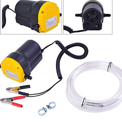 Teekland 12V 5A Fluid Oil Transfer Pump Diesel Extractor Scavenge Suction Home Use Mini Type Electric Oil Liquid Transfer Pump
