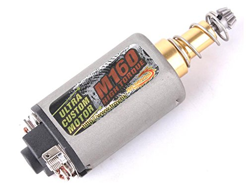 Elite Tribe Terminator M160 High Twist Type Speed Torque Motor Long Axle Airsoft