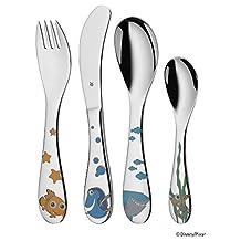 WMF Children's Nemo 4-Piece Cutlery Set ohne individuelle Gravur stainless steel