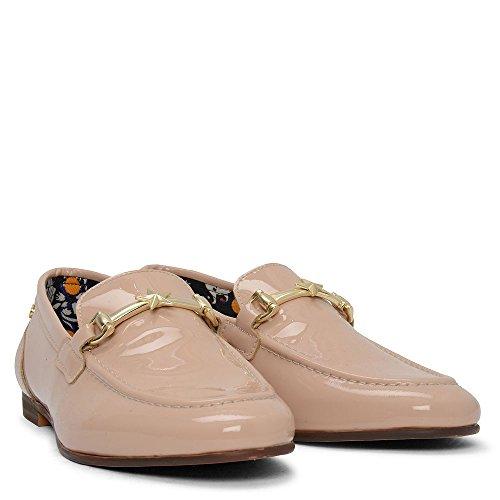 Tommy Hilfiger Doris 1p Patent Metal Clasp Loafer in Pink L9x5ejXG