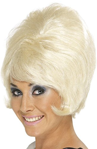 60's Beehive Wig Blonde (Male Bee Costume Uk)