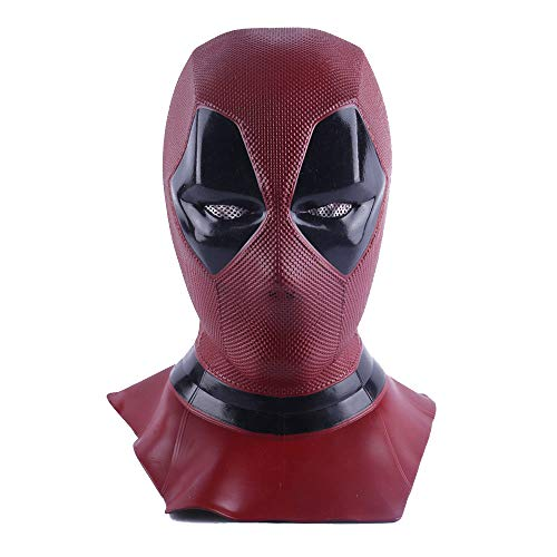 Deadpool Mask Breathable Full Face Halloween Cosplay Prop Wholesale Hood Helmet -