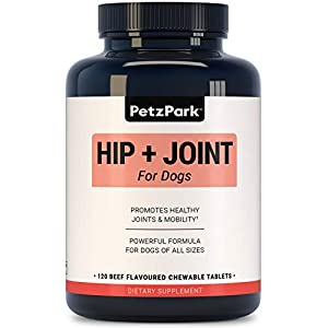 Glucosamine for Dogs Chondroitin MSM – Hip and Joint Support for Dogs of All Ages, Breeds and Sizes – Arthritis… Click on image for further info.