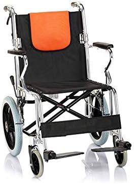 ZEQUAN Silla De Ruedas, Klappbarer Gehwagen Aus Aluminiumlegierung Für Rollstühle Für Senioren/Behinderte Und Personen Mit Eingeschränkter Mobilität, Mobile Hilfsgeräte, Sessel