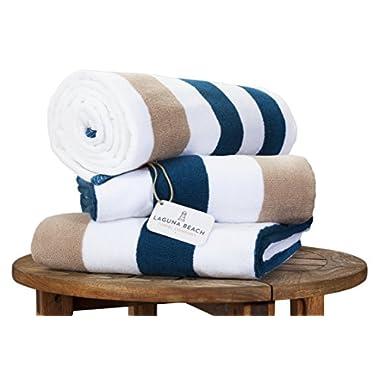 Plush Cabana Beach Towel by Laguna Beach Towel Co.