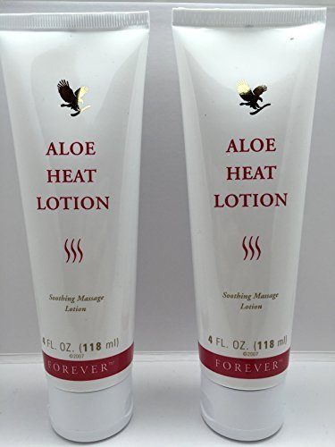 (Forever Living Aloe Heat Lotion 4oz. (Two Pack))