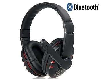 Cool Nice V8 Auriculares estéreo inalámbricos Bluetooth con micrófono (Negro): Amazon.es: Electrónica