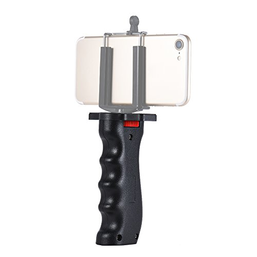 Andoer Wide Platform Pistol Grip Camera Handle with 1/4 Screw for SLR DSLR DC Canon Nikon Sony iPhone Xiaomi Smartphone