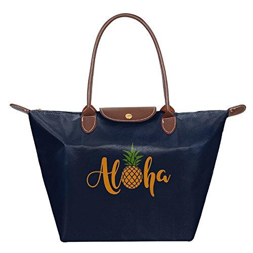 OUDE Aloha Pineapple Fashion Ladies Folding Dumpling - Malls Best Chicago Outlet Near