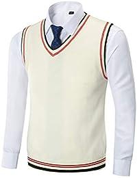 2bbeca4c2678 Mens Casual Slim Fit Lightweight V-Neck Sweater Vest