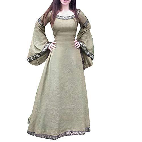 Toponly Women Cosplay Medieval Dress Renaissance Fit Irregular