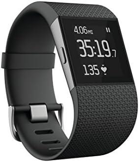 Fitbit Surge心拍数モニター付サージフィットネスウォッチ腕時計 L 並行輸入品 [並行輸入品]