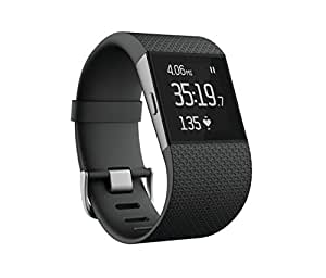 Fitbit Surge Fitness Superwatch Black Large US Version