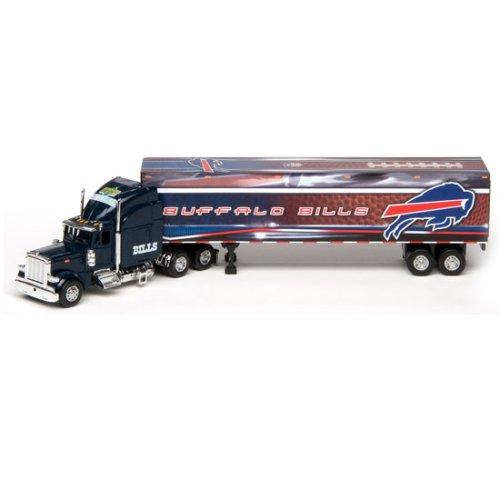Buffalo Bills Upper Deck Collectibles NFL Peterbilt Tractor-Trailer (Upper Tractor Peterbilt Trailer Deck)