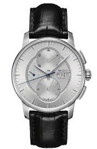 Armband Gehäuse Armbanduhr Schwarz Leder Herren Mido Baroncelli 42mm Yfyb67gv
