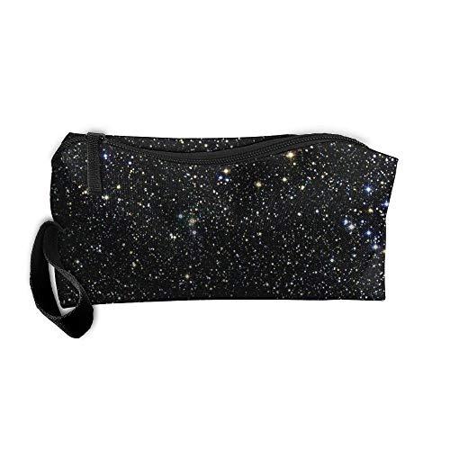 King Fong American Flag Texas Star Makeup Bag for Men/Women, Travel Toiletry Bag, Oxford Pencil Case]()