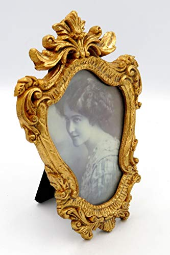YUGUO Photo Frame Small Picture Frame Resin Classic 57