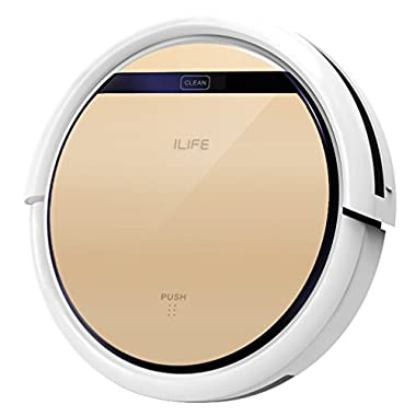 ILIFE V5s Robot Vacuum Cleaner with Water Tank Mop,Gold