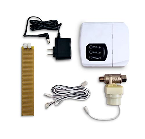 LeakSmart Automatic Leak Detection and Water Shut Off Kits- Protect Your Home from High Leak Risk Appliances (Dishwasher) ()