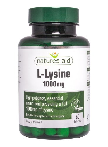 Natures Aid L-Lysin 1000 mg 60 Tabletten [Misc.]