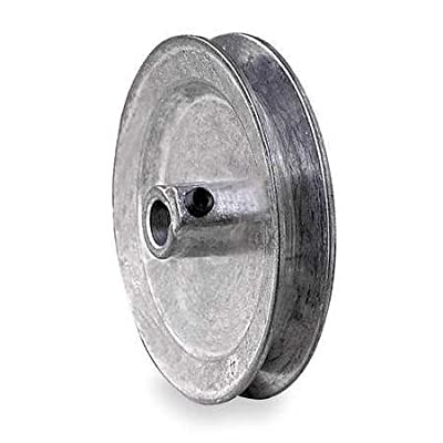 "V-Belt Pulley, 5/8""Fixed, 4.5""OD, Zamak3"