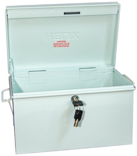Box Locking (Helix Locking Prescription Drug Security Chest, White (32480))