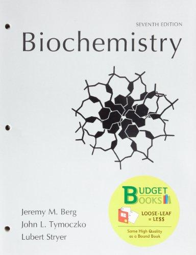 Loose-leaf Version for Biochemistry